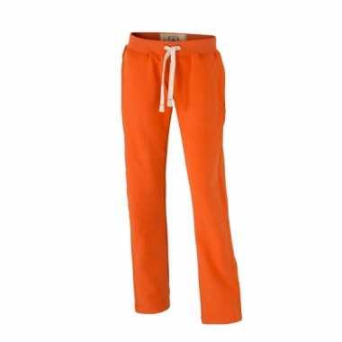 Joggingbroek Voor Dames.Vintage Joggingbroeken Oranje Met Zakken Voor Dames Joggingbroek