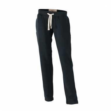 Vintage joggingbroeken zwart met zakken voor dames